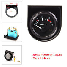 LED Light Car Pointer Numbers Clearly Show Oil Temperature Temp Gauge 50-150℃
