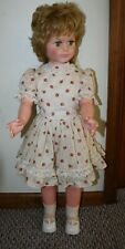 "Vintage 1960's EEGEE GOLDBERGER 30"" Tall Walker Vinyl Patty Play Pal Style DOLL"