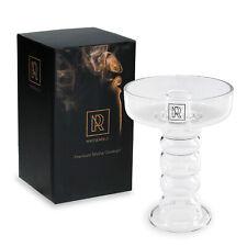 Shisha Glaskopf Phunnel Set mit Silikon Dichtung Einloch Tabak Kopf Wasserpfeife