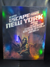 Escape From New York Blu-Ray Keep Case Full Slip Info #16 Region Free #309/500