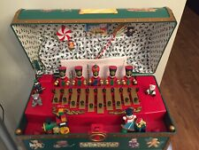 Vintage 1994 Mr Christmas Santa's Musical Toy Chest 35 Songs Rare Free Shipping