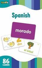 Flash Kids Flash Cards: Spanish (Flash Kids Flash Cards) by Flash Kids...