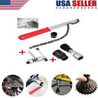 Road Bike Bicycle Crankset Crank Arm Wheel Puller Remover Repair Wrench Tool Kit