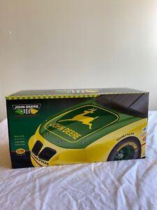 NIB John Deere Chad Little #23 Diecast 1:18 Stock Car 1996 ERTL #5816BA Ltd Ed