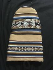 Native Tribal Design Oven Mitt Tan