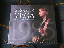 CD Album: Suzanne Vega : Live At The Speakeasy : New York Radio Broadcast 1985