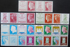 Timbres n° 4459-4472 Mariannes timbres neuf xx Série Boulazac