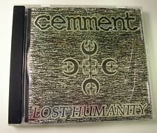 Cemment  Lost Humanity - CD genere: Rock Thrash, Grindcore, Death Metal