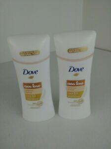 Dove Even Tone Antiperspirant Deodorant Calming Breeze Sweat Block 2.6 oz