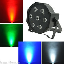 7x10W LED DJ Par Light 70W 4in1 RGBW PAR64 DMX Disco Club Party Stage Lighting