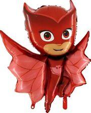 "1 x PJ Mask Owlette Foil Balloon Shape Character 37"" x 29"" (CS1)"