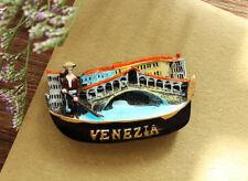 Italien Venedig Rialto Bridge Gondola Reiseandenken 3D Kühlschrankmagnet Magnet
