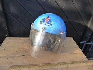 Vintage / Retro Stadium Project 9  Crash Helmet - Open face Stadium 9 Helmet