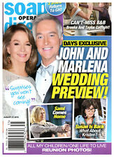 Soap Opera Digest Magazine August 27 2018 Drake Hogestyn & Deidre Hall