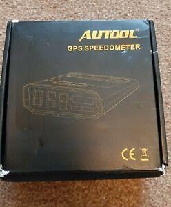 Autool GPS speedometer x100s solar powered head up display digital meter car