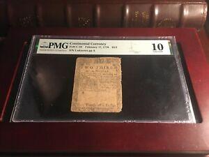 1776 $2/3 Fr#CC-22 PMG 10