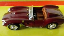FERRARI 250 TESTA ROSSA 1958 1/18 SHELL COULEUR BORDEAU RARE