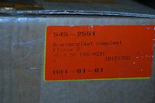 ITHO DAALDEROP 545-4426 BRENNERPLATTE KLIMAX 2 HR-2 SP BRANDERPLAAT COMPLEET NEU