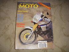 LE MONDE DE LA MOTO 170 06.1989 BMW R 100 RT YAMAHA 600 FZR HONDA 1000 CBR