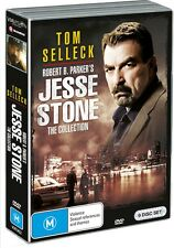 BRAND NEW Jesse Stone Movie Collection (DVD, 2016, 9-Disc Set) R4