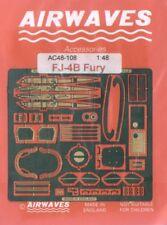 Airwaves 1/48 FJ-4B Fury etch for AZ Models kit  # AEC48108