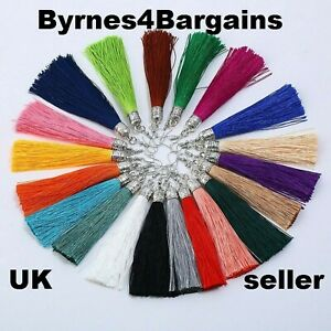 Bohemian Tassel Earrings Long Drop Tassel Fringe Trendy Fashion UK