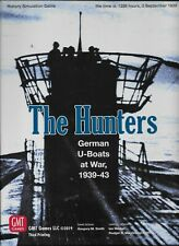 New ListingNew Sealed Gmt Games - The Hunters German U-Boats at War, 1939-43 Third Printing