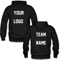 Custom Personalized Pullover Hoodie With Your Text ,Logo ,Company,Photo,Team Top