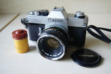 Canon TLb with Canon FD 50mm 1:1,8