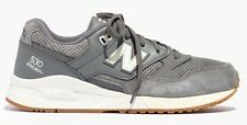 MADEWELL New Balance 530 womens size 6 gray grey leather suede sneakers