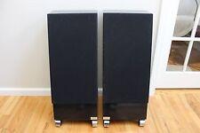 JSE Infinite Slope Model 1 Floor Standing Speakers Black