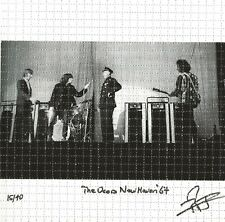 """The Doors - Jim Morrison """"Say Your Thing Man!"""" New Haven Ct 12/9/1967 Blotter Ed"""