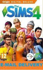 The Sims 4 Digital Deluxe Edition /Digital Download Account/PC/MAC/MULTILANGUAGE
