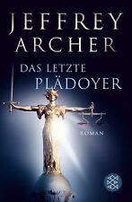 Das letzte Plädoyer: Roman von Archer, Jeffrey | Buch | Zustand sehr gut