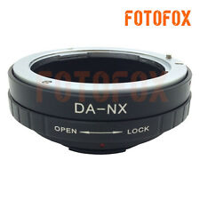 DA-NX Pentax K mount DA lens to Samsung NX mount Camera Adapter NX1 NX500 NX3300