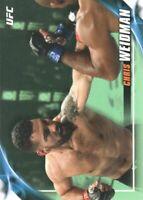 2019 Topps UFC Knockout Green MMA Trading Card #74 Chris Weidman /149