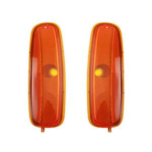 NEW PAIR SIDE MARKER LIGHTS FITS GMC SAVANA 2500 3500 96-02 GM2550152 5977276