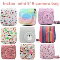 Case for Fujifilm Instax Mini 8 9 Shoulder Strap Bag Camera Protector Cover Gift