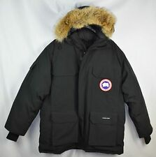 NEW Canada Goose Mens Expedition Parka 4565M Black Size Large L Coat Jacket
