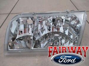 98 thru 12 Crown Victoria OEM Genuine Ford Parts Left Driver Head Lamp Light NEW