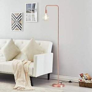 CGC Brushed Copper Floor Lamp Vintage Industrial Retro Bedroom Kitchen Lounge