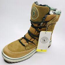 NIB Santana Canada Pike Size 7 M Waterproof Leather & Boa Fleece Boots Womens