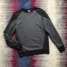 Calvin Klein Mens Grey/BLack Oversize Sweatshirt Jumper Size S Excellent Conditi