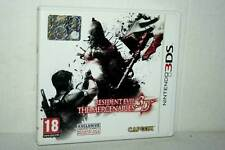 RESIDENT EVIL 3D THE MERCERNARIES USATO NINTENDO 3DS VER ITALIANA FR1 48521