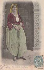 """-Carte Postale ancienne Algérie titrée """" Belle Fatma """""""