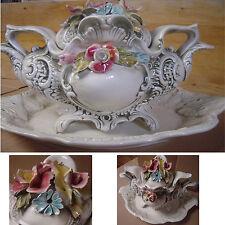Superbe Soupière de décoration Made in Italy. Année 1950