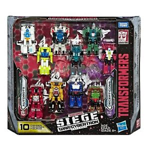 Transformers War for Cybertron Siege Target Exclusive Micromaster 10 Pack