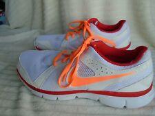 Nike ladies white, orange & red runners trainers UK8