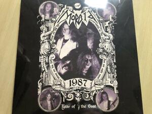 Morbid Year Of The Goat Purple Vinyl LP Mayhem Bathory Faust Darkthrone Beherit