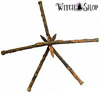 Set of 5 COFFIN NAILS Curios for Witch Bottles Protection Wicca Witch Pagan